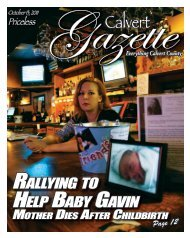 rallying to help baby gavin - County Times - Southern Maryland Online
