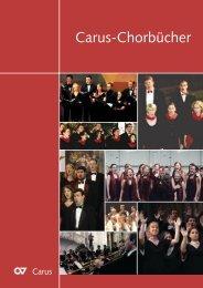 Carus-Chorbücher