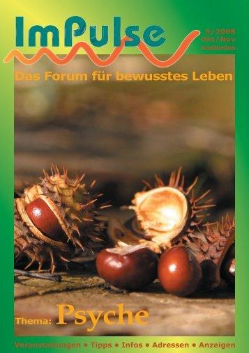 Das Forum für bewusstes Leben - Impulse-Verlag