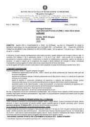 Bando Esperti Esterni 2013 - mediazione linguistica - STRINGHER