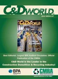 the Download C&D World 2010 Media Kit