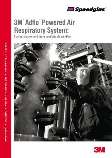 3M™ Adflo™ Powered Air Respiratory System:
