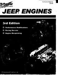 Jeep Engines - Oljeep