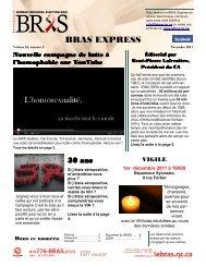 BRAS EXPRESS - Le BRAS