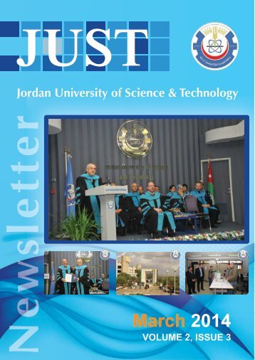 JUST Newsletter March Issue