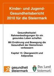 Übergewicht und Adipositas - Land Steiermark