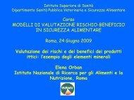 Orban - Benefici dei prodotti ittici [PDF - 597.78 kbytes] - Istituto ...