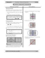 Grundwissen Geometrie - Treminer.de