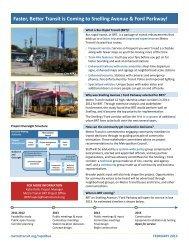 Project Fact Sheet - Metro Transit