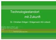 Technologiestandort mit Zukunft - Zukunft Lübeck