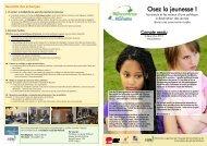 Osez la jeunesse ! - Fondation rurale de Wallonie