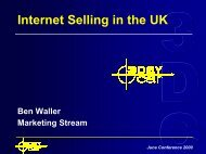Internet Selling in the UK - 3DayCar
