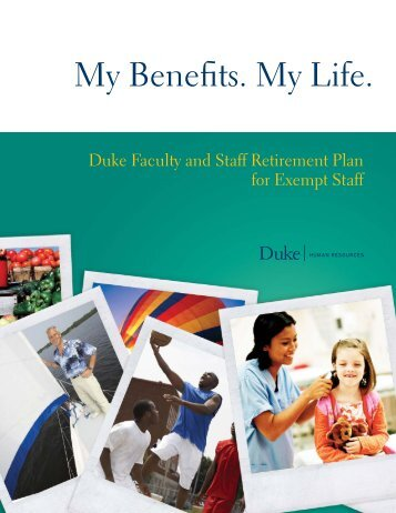 Duke Faculty and Staff Retirement Plan - Duke Human Resources ...