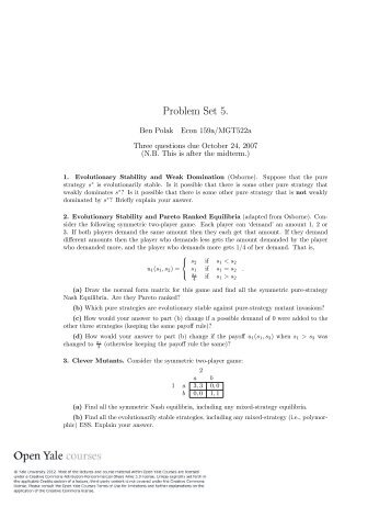 problem set 5 Problem set 5 miscellaneous: 6 857 - network and computer security from massachusetts institute of technology.