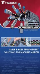 Cable & Hose Carriers Capabilities Brochure - Tsubaki
