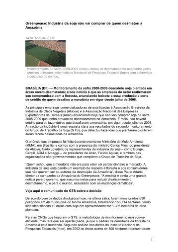 15/04/2009 – Site da WWF Brasil: Monitoramento mostra resultados ...