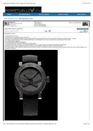 Perpetuelle.com Watch Forums - Watches in ... - Black Belt Watch