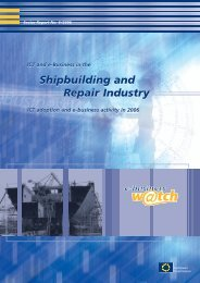 ICT and e-business on the shipbuilding and repair industry