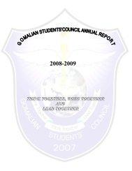Annual Repot 2008-2009 - Gomal University