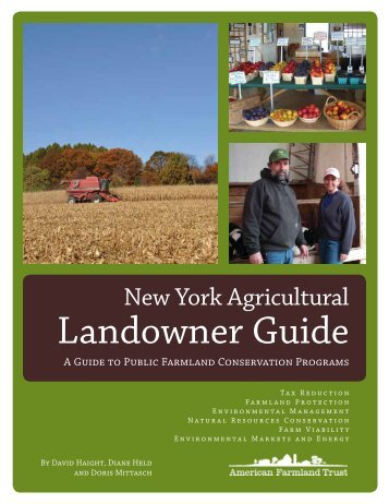 New York Agricultural Landowner Guide - Seneca County