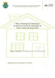 Etapa 2. Produto nº 1 - Diagnóstico do Setor Habitacional