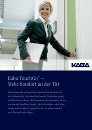 Kaba Touch Go - Doppler, Basel