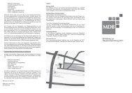 Einladung zur Hauptversammlung 2011 - MDB AG