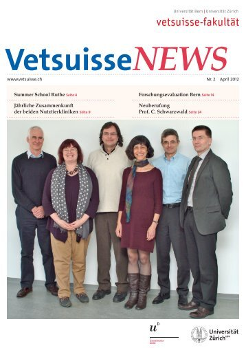 Zeitschrift - Vetsuisse-Fakultät - Universität Bern
