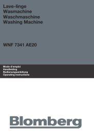 Blomberg WNF 7341 WE20 wasmachine - Wehkamp.nl