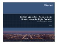 Upgrade vs. Replacement - EMS Users Conference