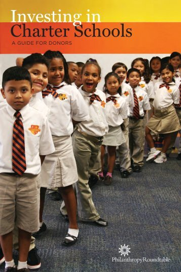 Investing in Charter Schools: A Guide for Donors - Public Impact