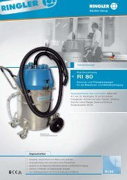 RI 030 RI 80 - Bernhard Ringler Apparatebau GmbH