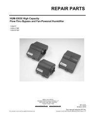 Repair Parts Manual - PexSupply.com