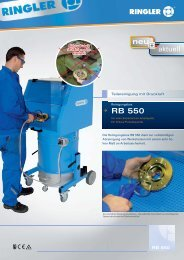 RB 550 - Bernhard Ringler Apparatebau GmbH