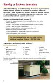 Standby and Backup Generators - Page 2