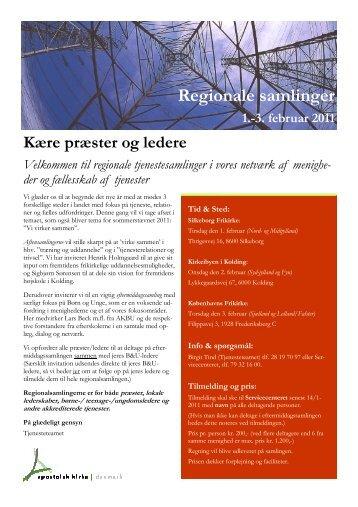 akd regionalsaml2011 - Apostolsk Kirke i Danmark