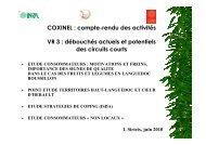 Etude consommateurs : motivations et freins ... - INRA Montpellier