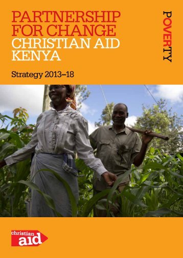 Kenya strategy, 2013-18 (PDF, 1mb) - Christian Aid
