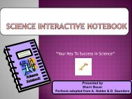 Science-Interactive PowerPoint