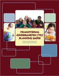 TK Guide - California County Superintendents Educational Services ...