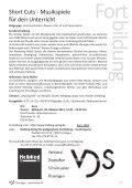 Fortbildungen des VDS - Verband Deutscher Schulmusiker - Page 5
