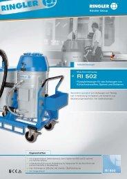 RI 502 - Bernhard Ringler Apparatebau GmbH