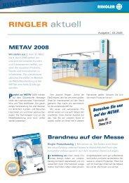 metav 2008 - Bernhard Ringler Apparatebau GmbH