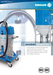 produktprogramm - Bernhard Ringler Apparatebau GmbH