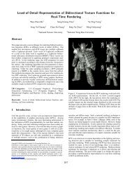 Level-of-Detail Representation of Bidirectional Texture Functions for ...