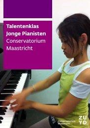 Talentenklas Jonge Pianisten Conservatorium Maastricht