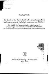 und Einleitung (390 KB) - Herbert Utz Verlag GmbH