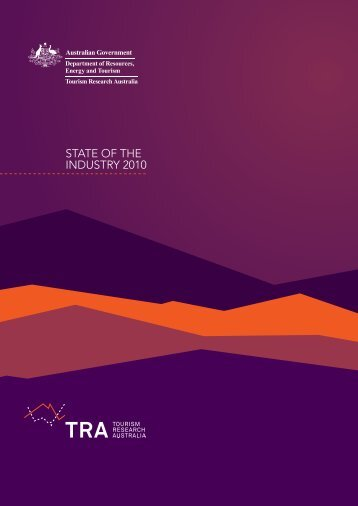 state of the industry 2010 - Department of Resources, Energy and ...