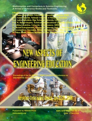New aspects of engineering - WSEAS