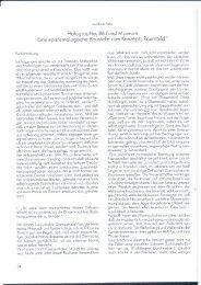 Holographie, Bild und Museum, in. Dieter Jung, Bilder - Zeichnungen